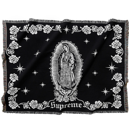 Virgin Mary Blanket (Black)