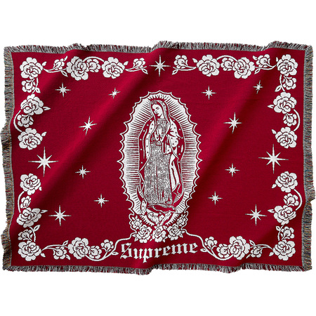 Virgin Mary Blanket (Red)