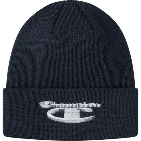 Supreme®/Champion® 3D Metallic Beanie (Navy)
