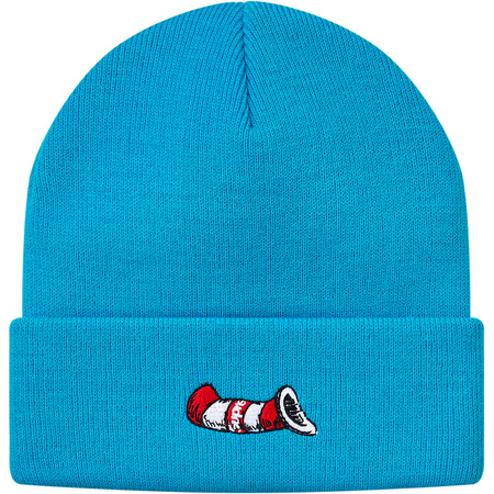 Cat in the Hat Beanie (Blue)
