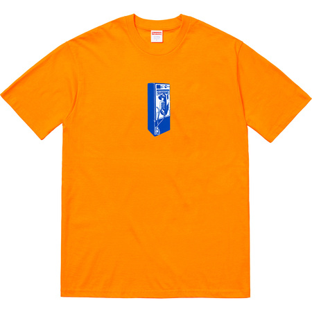 Payphone Tee (Bright Orange)