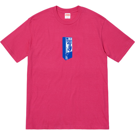 Payphone Tee (Dark Pink)