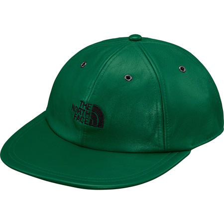 Supreme®/The North Face® Leather 6-Panel (Dark Green)