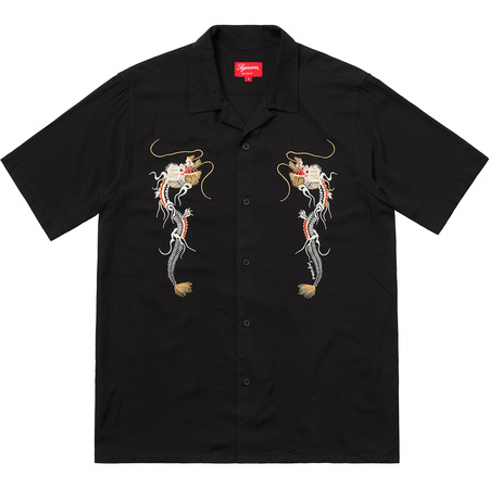 Dragon Rayon Shirt (Black)