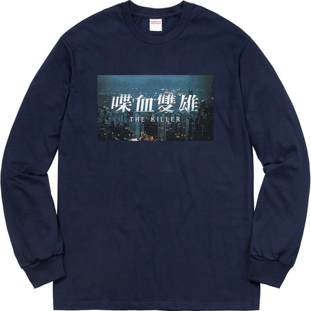 The Killer L/S Tee (Navy)