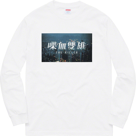 The Killer L/S Tee (White)