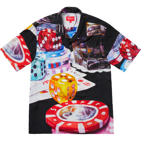 Casino Rayon Shirt (Black)