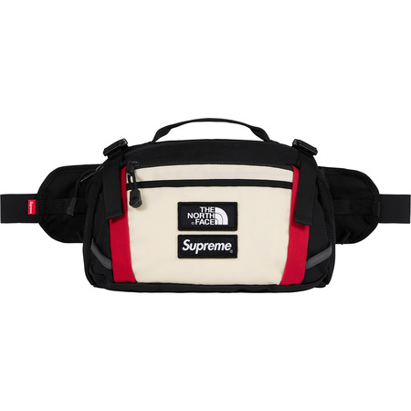 Supreme®/The North Face® Expedition Waist Bag (White)