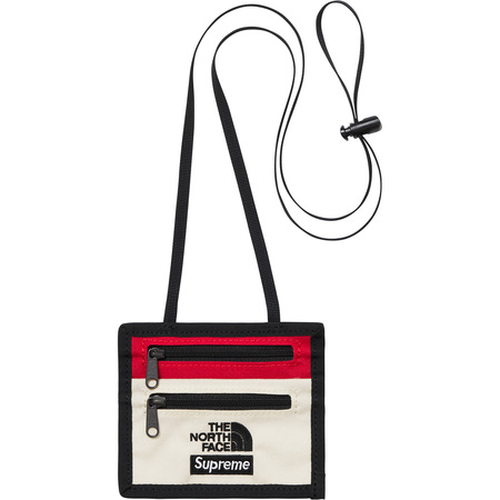 Supreme®/The North Face® Expedition Travel Wallet (White)