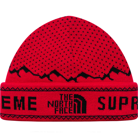 Supreme®/The North Face® Fold Beanie (Red)