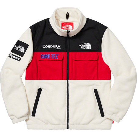 Supreme®/The North Face® Expedition Fleece Jacket (White)