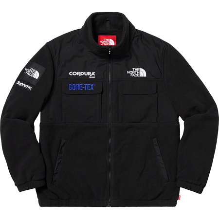 Supreme®/The North Face® Expedition Fleece Jacket (Black)