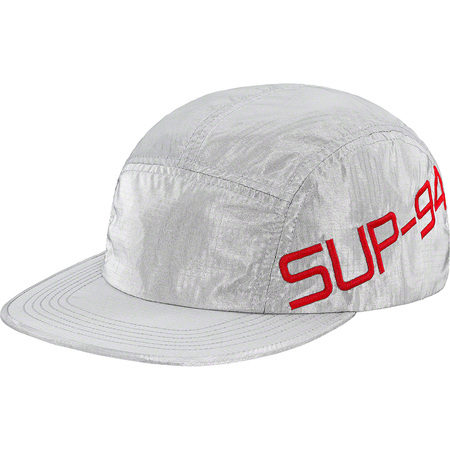 Side Logo Camp Cap (Silver)