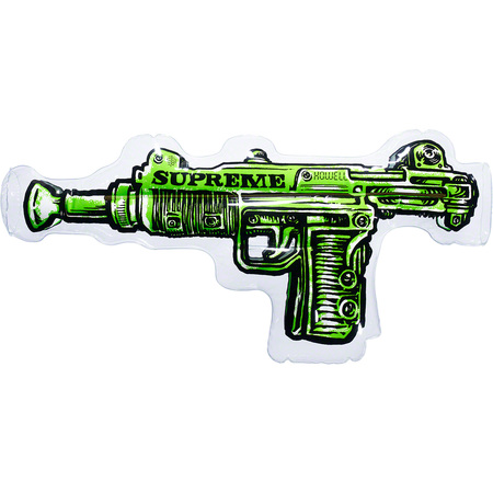 Toy Uzi Inflatable Pillow (Lime)