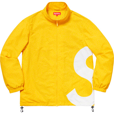 S Logo Track Jacket (Yellow)