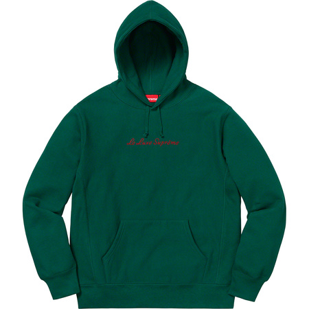 Le Luxe Hooded Sweatshirt (Dark Green)