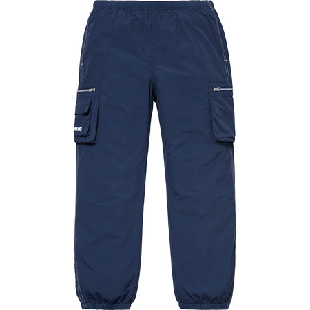 Nylon Cargo Pant (Dark Blue)