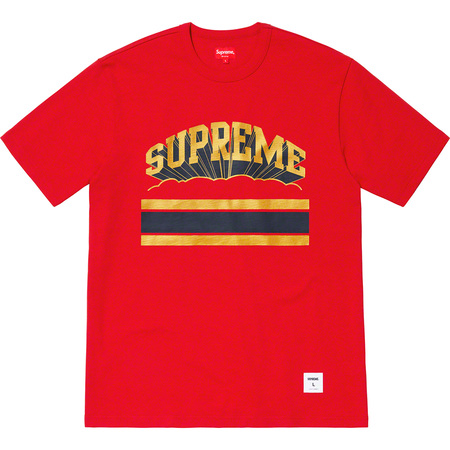 Cloud Arc Tee (Red)