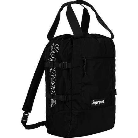 Tote Backpack (Black)