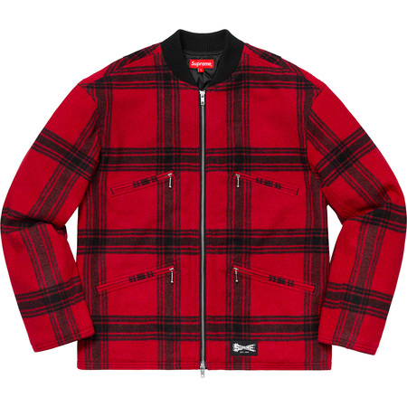 Zip Car Jacket (Red)