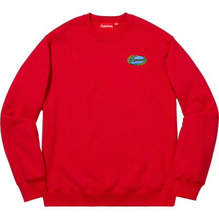 Chain Logo Crewneck (Red)
