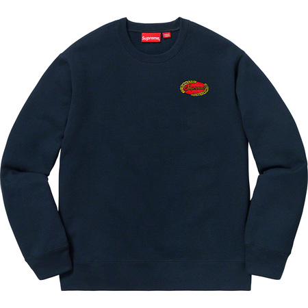Chain Logo Crewneck (Navy)