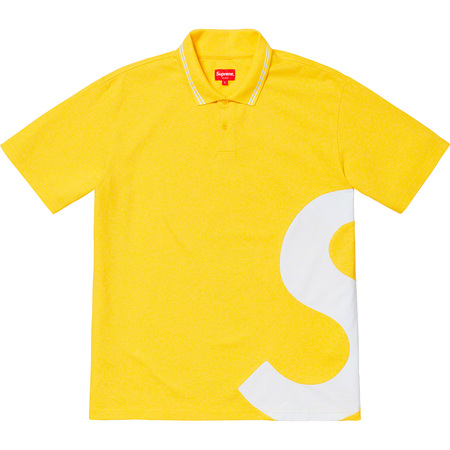 S Logo Polo (Yellow)