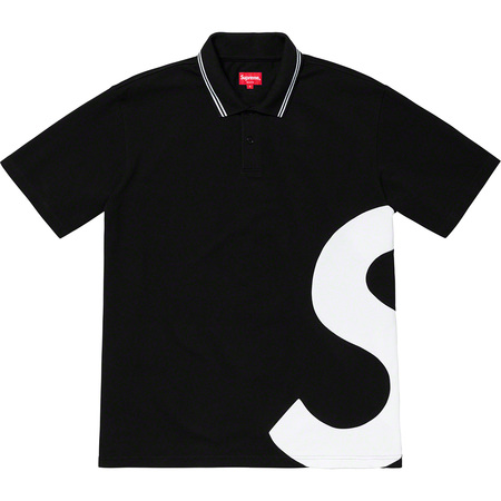 S Logo Polo (Black)