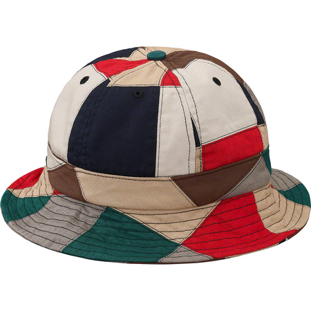 Patchwork Bell Hat (Multicolor)
