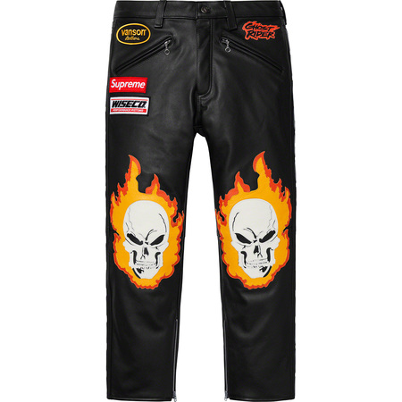 Supreme®/Vanson Leathers® Ghost Rider© Pant (Black)