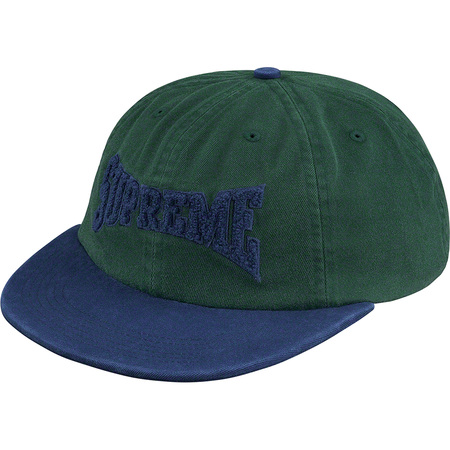 Chenille Logo 6-Panel (Dark Green)