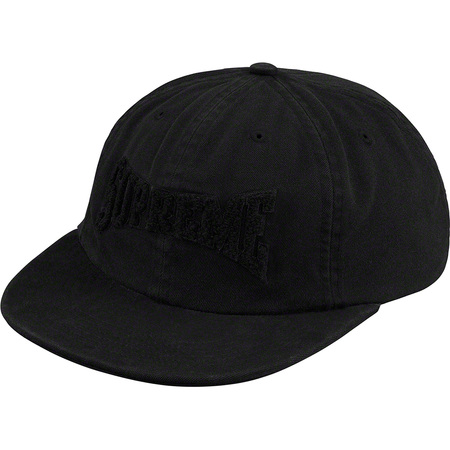 Chenille Logo 6-Panel (Black)
