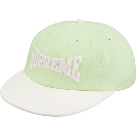 Chenille Logo 6-Panel (Pale Lime)