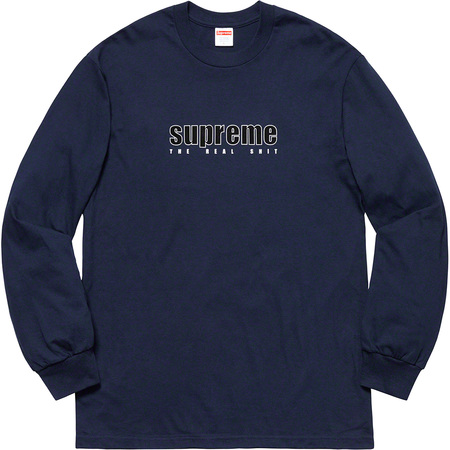 The Real Shit L/S Tee (Navy)