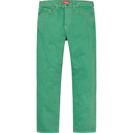 Washed Regular Jean (Washed Green)
