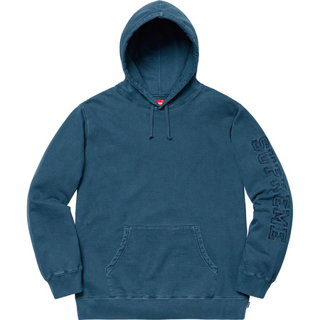 Overdyed Hooded Sweatshirt (Navy)