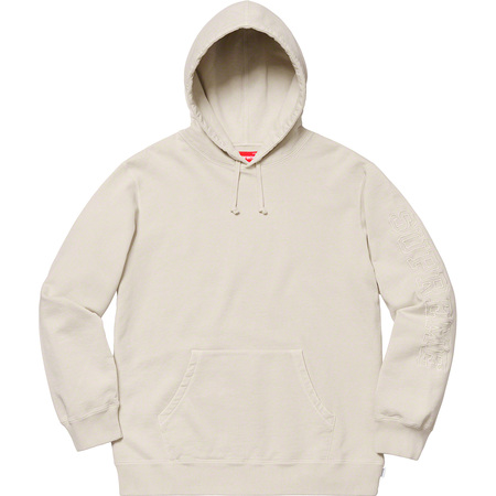 Overdyed Hooded Sweatshirt (Natural)