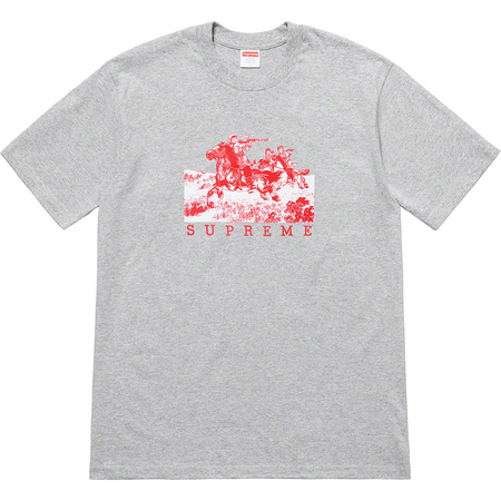 Riders Tee (Heather Grey)