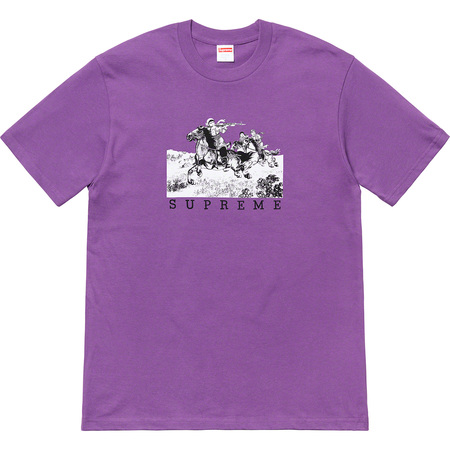 Riders Tee (Purple)