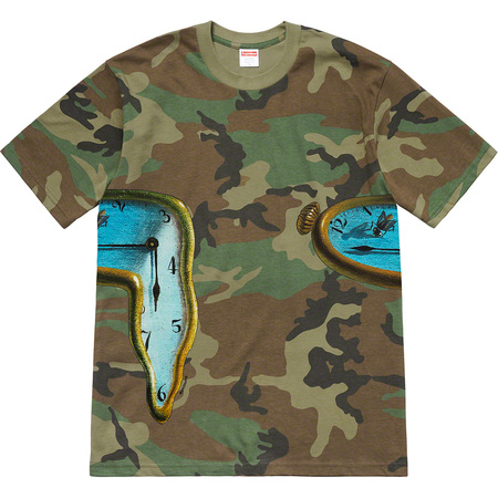 The Persistence of Memory Tee (Woodland Camo)