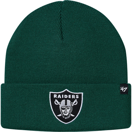 Supreme®/NFL/Raiders/'47 Beanie (Dark Green)