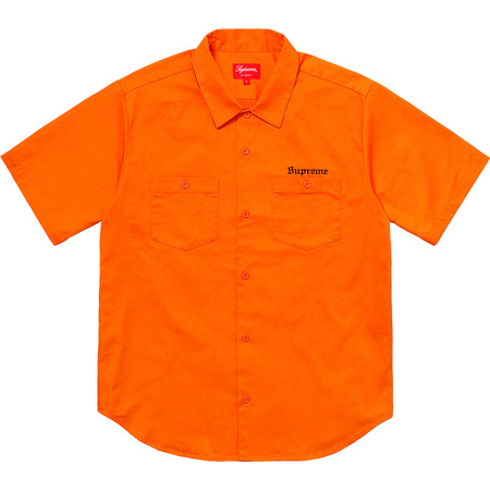 Sekintani La Norihiro/Supreme Work Shirt (Orange)