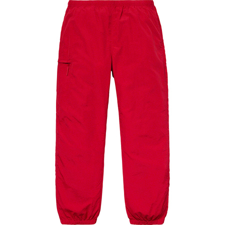 Nylon Trail Pant (Red)