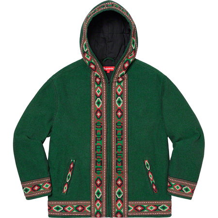 Woven Hooded Jacket (Green)