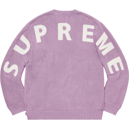 Back Logo Sweater (Lilac)