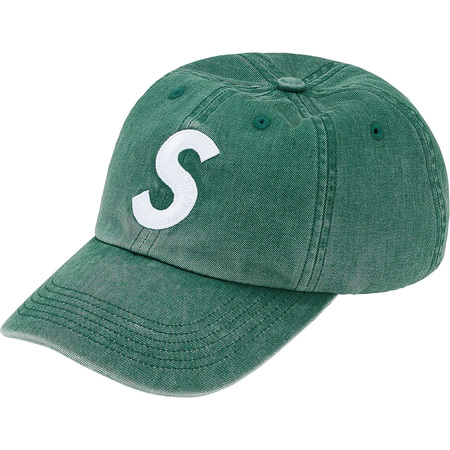 Pigment Print S Logo 6-Panel (Dark Teal)