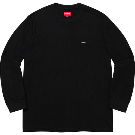 Small Box L/S Tee (Black)