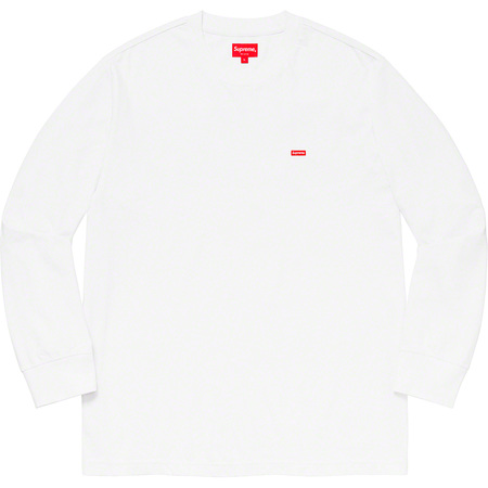 Small Box L/S Tee (White)
