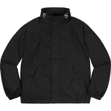 Raglan Court Jacket (Black)