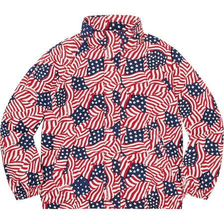 Raglan Court Jacket (Flags)